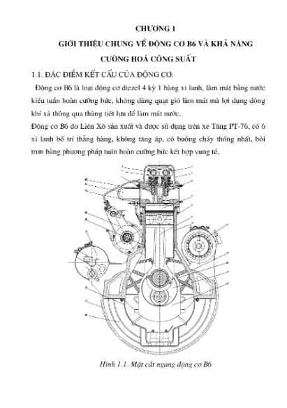 Khai thác động cơ ZMZ 4062 lắp trên xe UAZ 3160 và tính toán hệ thống làm mát